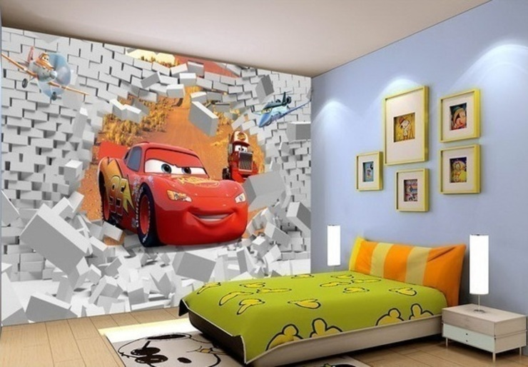Car Mural Wallpaper Banner Buzz Interior landscaping