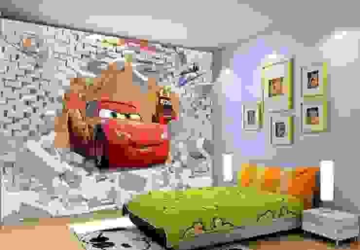 Car Mural Wallpaper de Banner Buzz Moderno