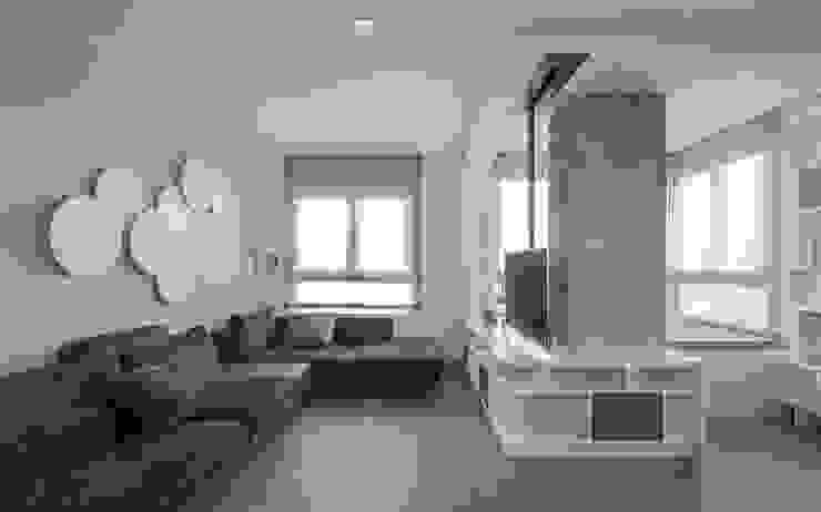 Sala de estar LLIBERÓS SALVADOR Arquitectos Livings de estilo minimalista