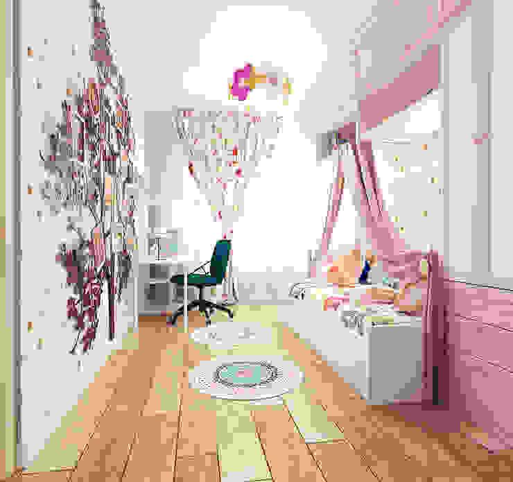 Projekty,  Pokój dziecięcy zaprojektowane przez ООО 'Студио-ТА',