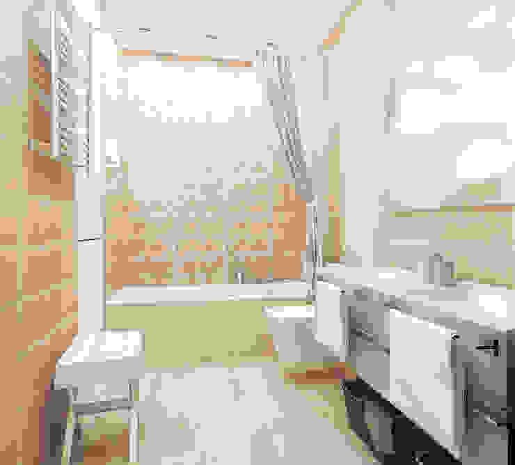 квартира на ул. Одесская Ванная в классическом стиле от ООО 'Студио-ТА' Классический