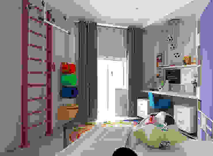 квартира на ул. Одесская: Детские комнаты в . Автор – ООО 'Студио-ТА',