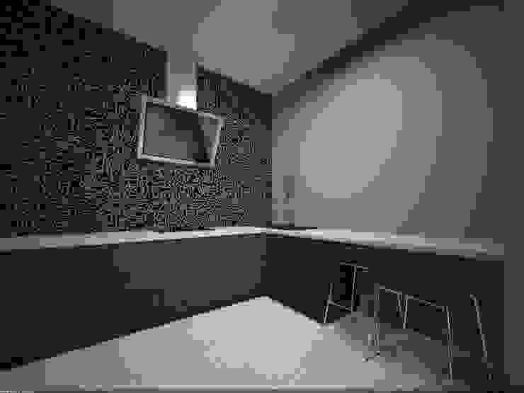 Фиолетовые нюансы Кухни в эклектичном стиле от PichuginaDesign Эклектичный