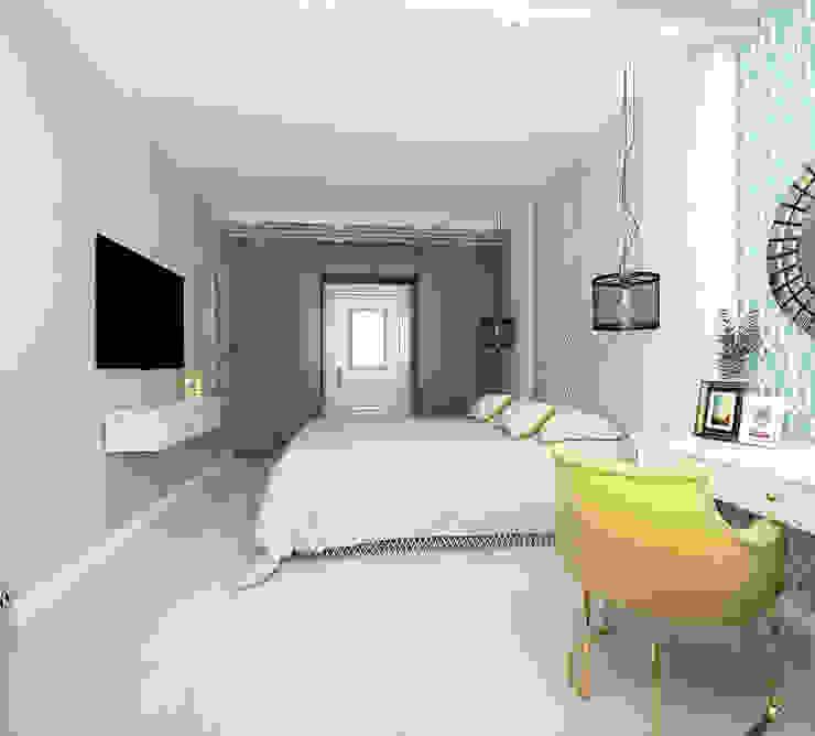 квартира на ул. Одесская Спальня в классическом стиле от ООО 'Студио-ТА' Классический