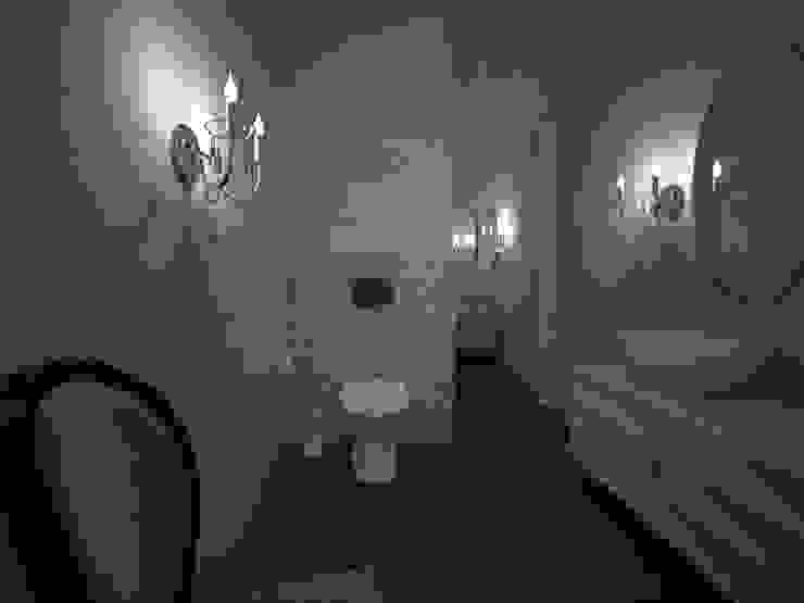 Фиолетовые нюансы: Ванные комнаты в . Автор – PichuginaDesign
