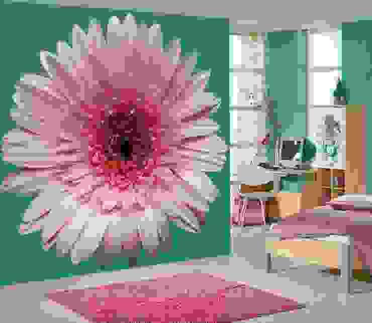 Flower Wall Murals de Banner Buzz Moderno