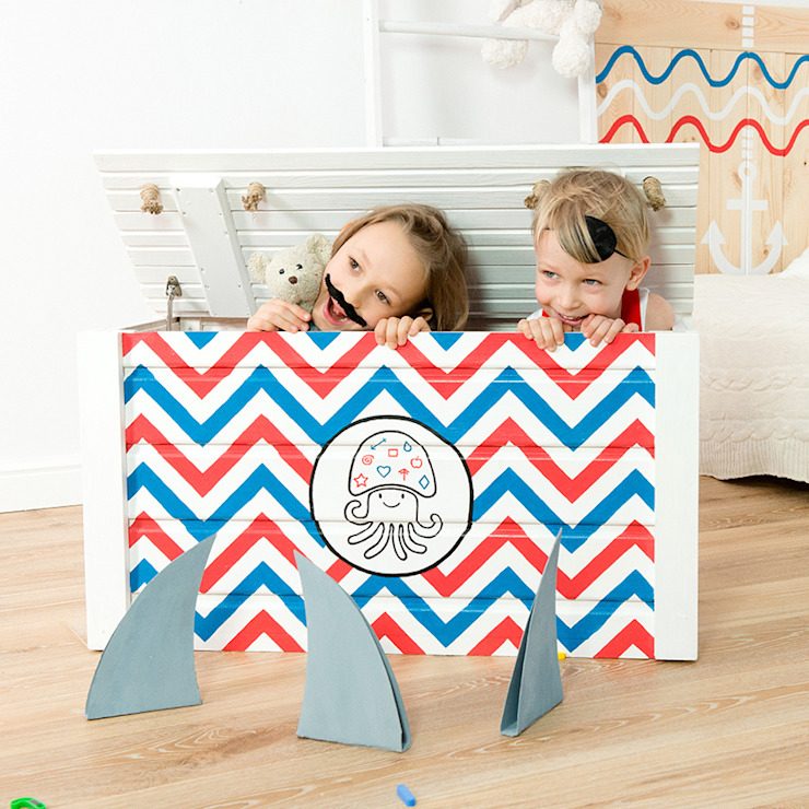 "Toy chest ""Waterlove"" NOBOBOBO Nursery/kid's roomStorage"