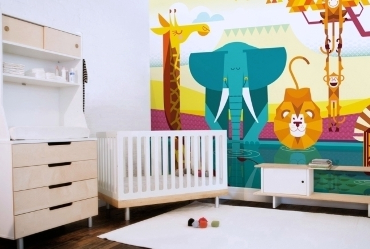 Kid Wall Murals Banner Buzz Interior landscaping