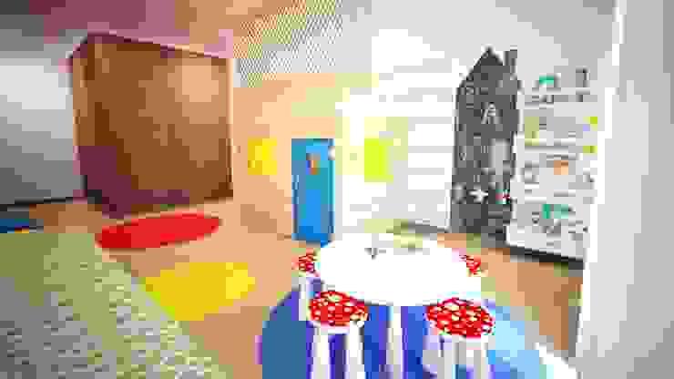 Quarto de Brincar - projeto 3D por Ângela Pinheiro Home Design