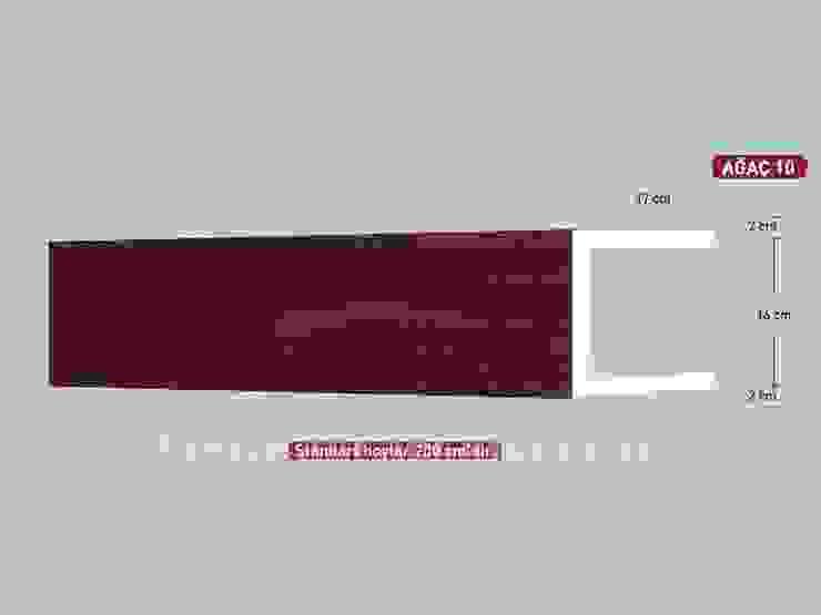 Model 10 Ahşap Görünümlü Eps Tavan Profili Vip Tavan Kaplama Klasik