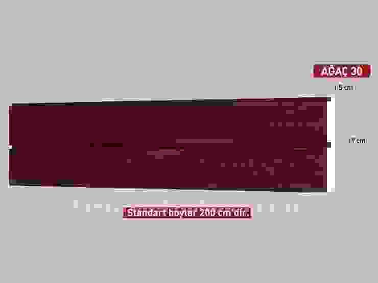 Model 30 Ahşap Desenli Tavan Profili Vip Tavan Kaplama Klasik