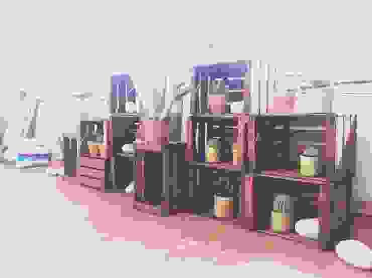 Como dar vida a tu terraza abandonada Balcones y terrazas de estilo rústico de Asilvestrada Rústico
