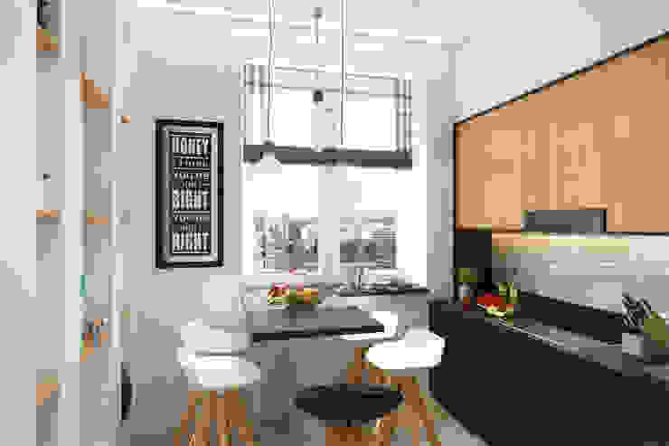 2-х комнатная квартира в Москве: Кухни в . Автор – Rustem Urazmetov
