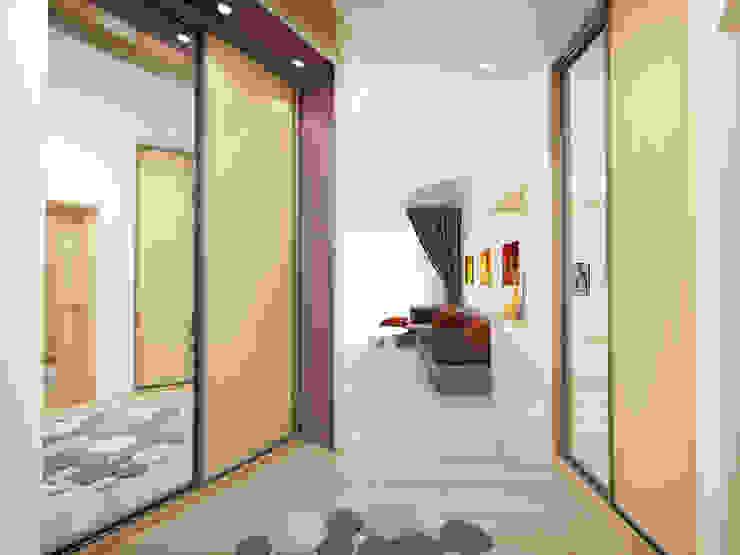 2-х комнатная квартира в Подмосковье Гостиная в стиле минимализм от Rustem Urazmetov Минимализм