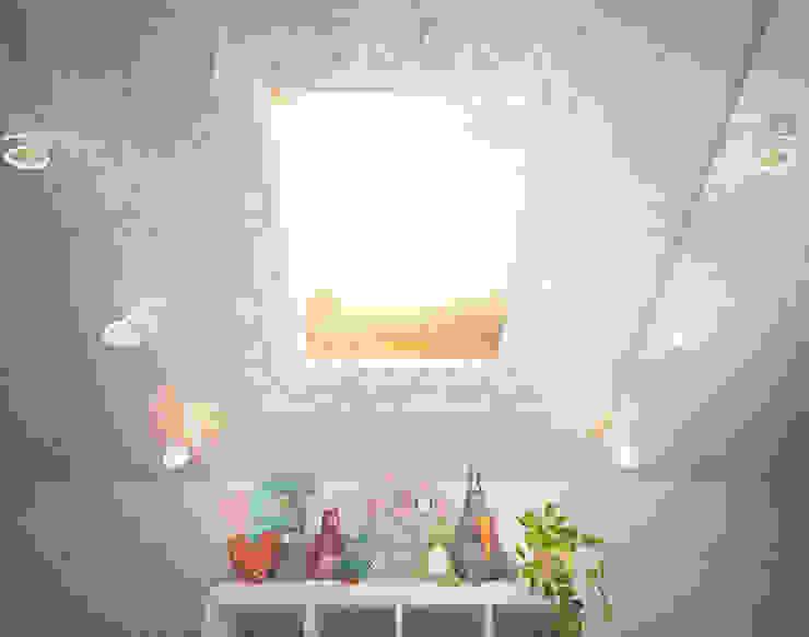 Уютный дом в стиле прованс Детская комнатa в средиземноморском стиле от Дизайн-бюро Анны Шаркуновой 'East-West' Средиземноморский