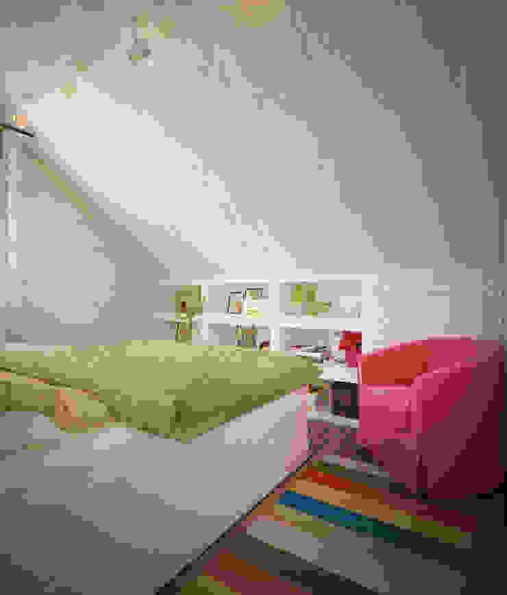 Уютный дом в стиле прованс Спальня в средиземноморском стиле от Дизайн-бюро Анны Шаркуновой 'East-West' Средиземноморский