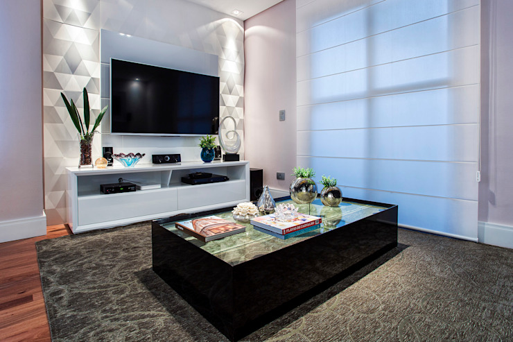 Modern Living Room by Amanda Pinheiro Design de interiores Modern