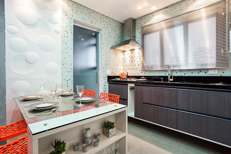Modern Kitchen by Amanda Pinheiro Design de interiores Modern