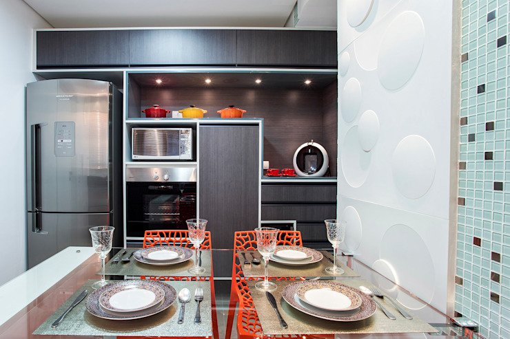 Kitchen by Amanda Pinheiro Design de interiores, Modern
