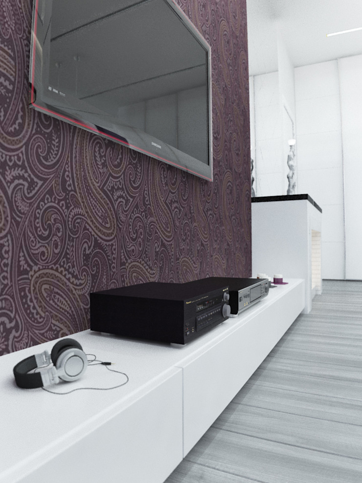 Salon scandinave par Rustem Urazmetov Scandinave