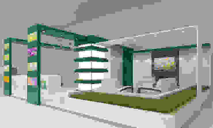 Выставочный павильон Сады России Выставочные павильоны в стиле минимализм от Rustem Urazmetov Минимализм