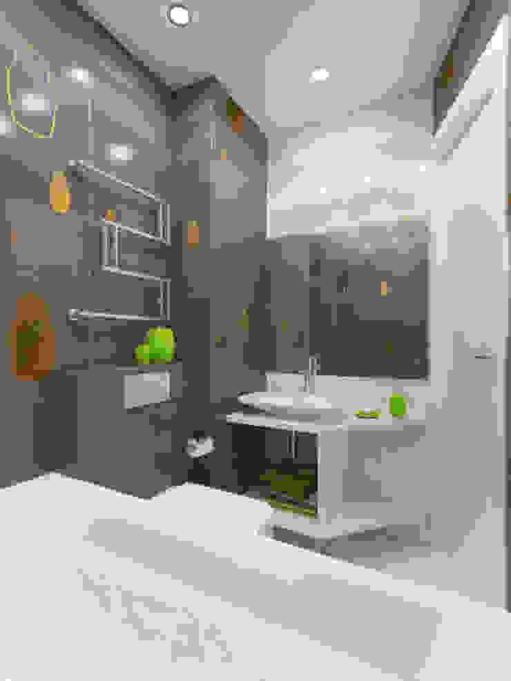 Дизайн ванной комнаты Ванная комната в стиле минимализм от Rustem Urazmetov Минимализм