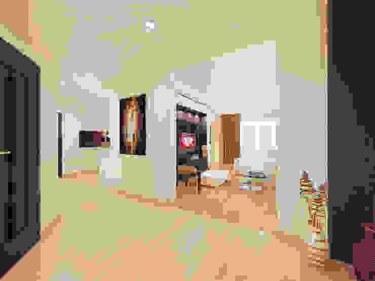 2-х комнатная квартира в Москве. Коридор Коридор, прихожая и лестница в стиле минимализм от Rustem Urazmetov Минимализм