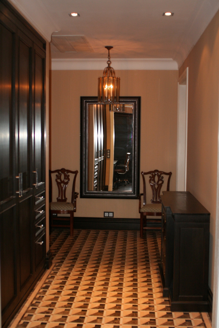ANIMA Pasillos, vestíbulos y escaleras de estilo ecléctico