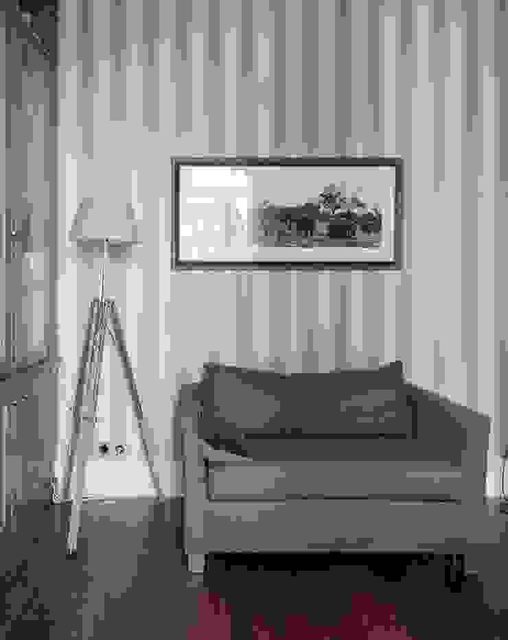 Квартира в сиреневых тонах Рабочий кабинет в стиле модерн от ANIMA Модерн