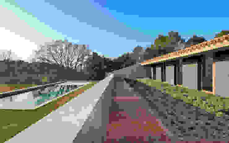 bellafilarquitectes Country style conservatory