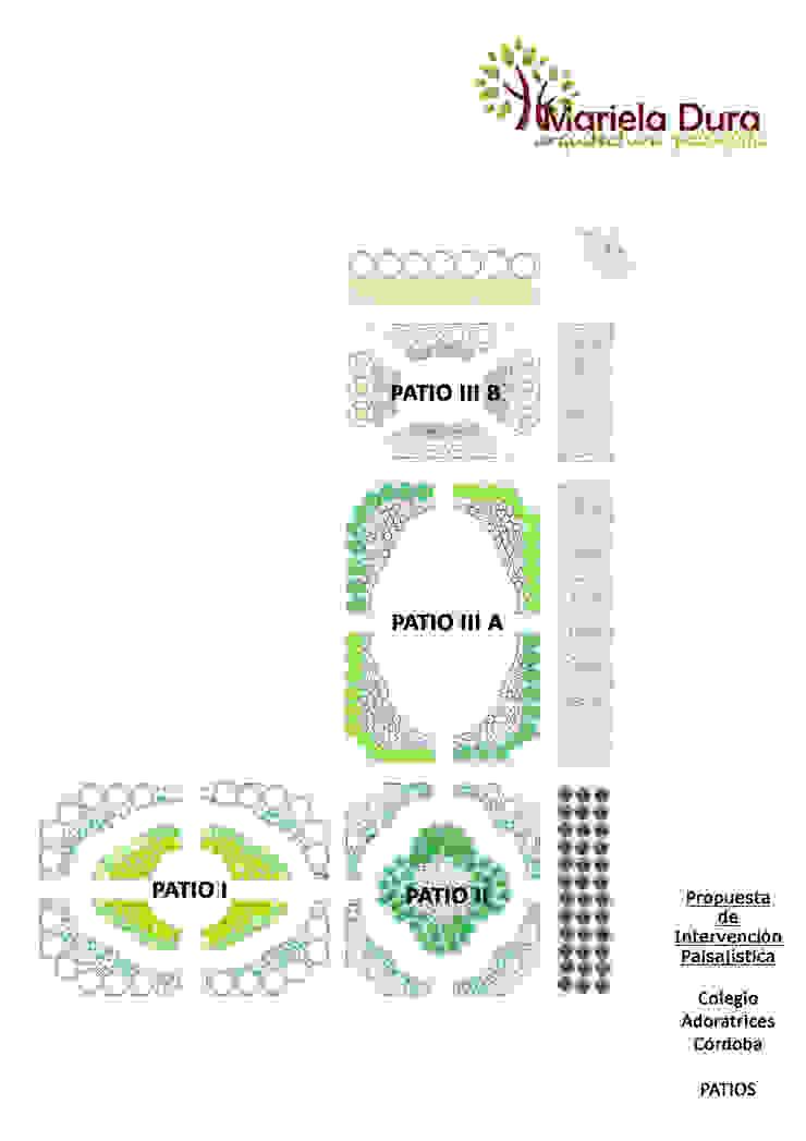 PROPUESTA DE INTERVENCIÓN PAISAJISTA - Esquema General del Lugar Jardines clásicos de MARIELA DURA ARQUITECTURA PAISAJISTA Clásico