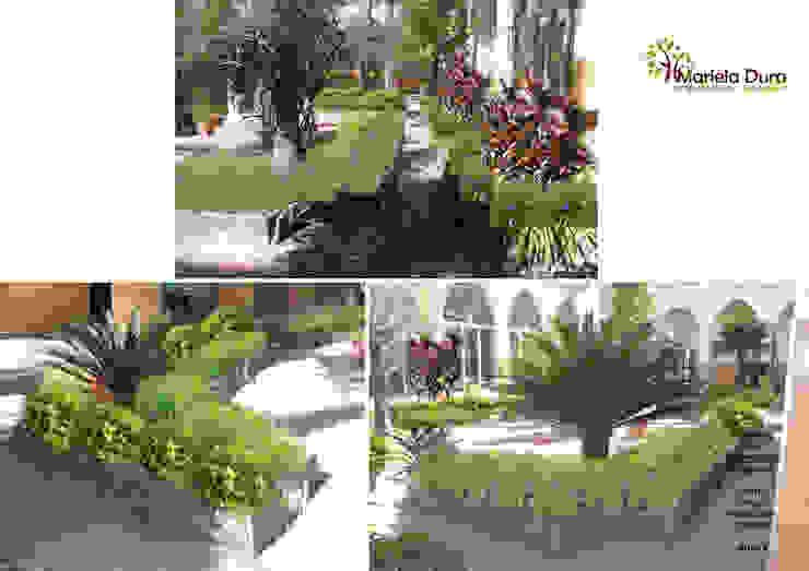 HOJA 3: PATIO IIIA – MONOLITO Jardines clásicos de MARIELA DURA ARQUITECTURA PAISAJISTA Clásico