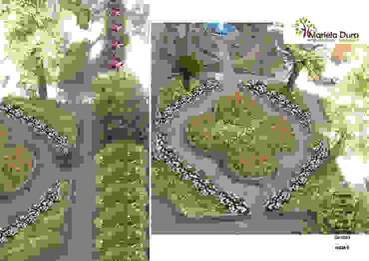 HOJA 6 Jardines clásicos de MARIELA DURA ARQUITECTURA PAISAJISTA Clásico