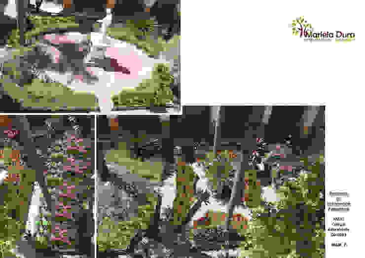 HOJA 7 Jardines clásicos de MARIELA DURA ARQUITECTURA PAISAJISTA Clásico