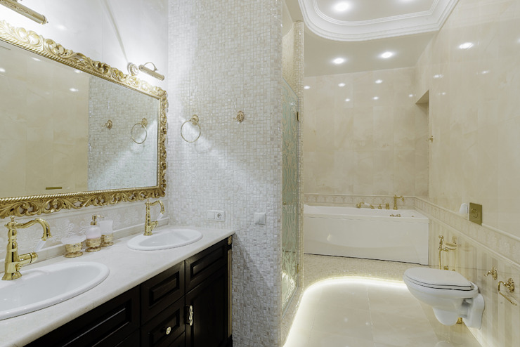 Klasyczna łazienka od Креазон Klasyczny