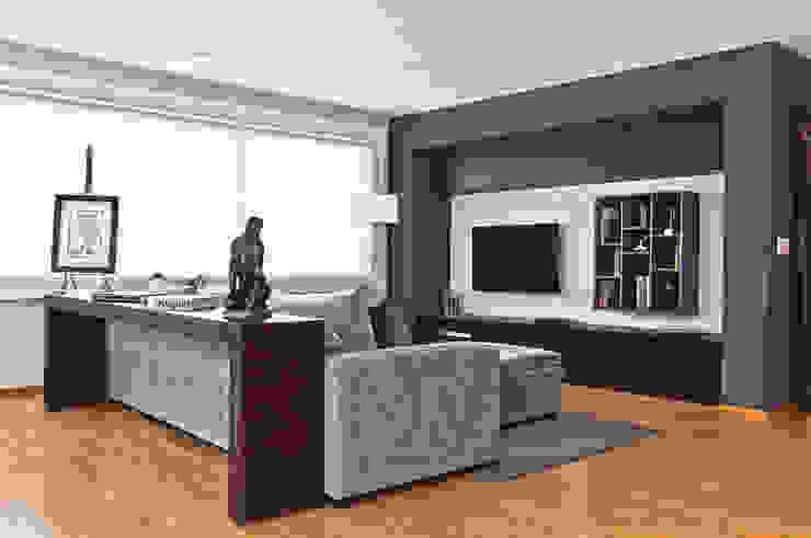 Salas multimedias de estilo  por Concepto Taller de Arquitectura