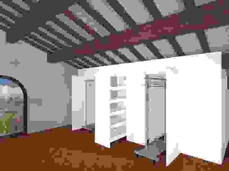 Kleedkamer door Anna Leone Architetto Home Stager,