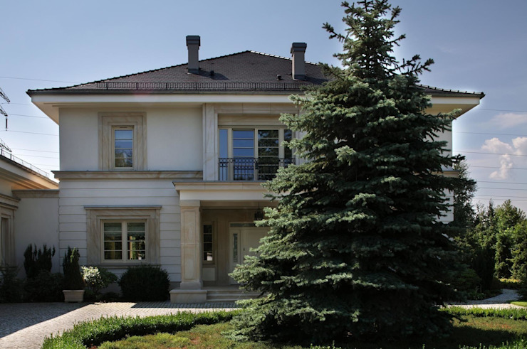 Willa Wrocław: styl , w kategorii Domy zaprojektowany przez ASA Autorskie Studio Architektury,Klasyczny