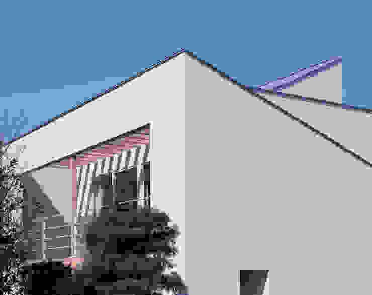 外観: 久保田章敬建築研究所が手掛けた家です。,モダン