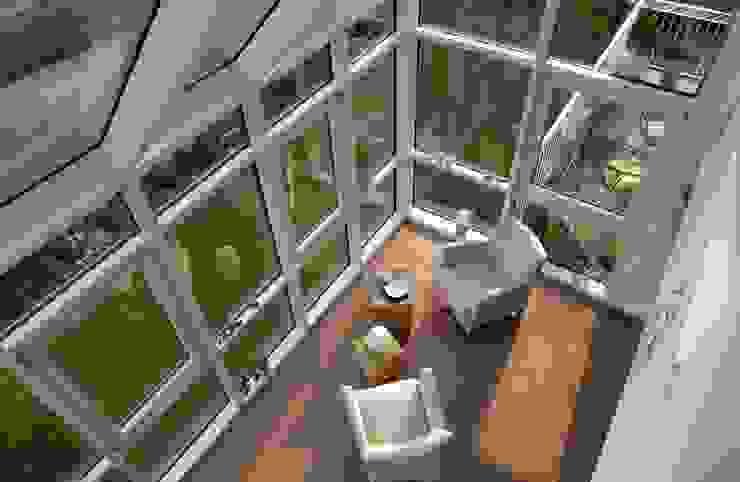 Projekty,  Ogród zimowy zaprojektowane przez Haacke Haus GmbH Co. KG,