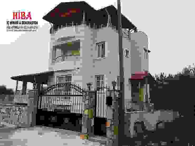 Casas de estilo moderno de Hiba iç mimarik Moderno