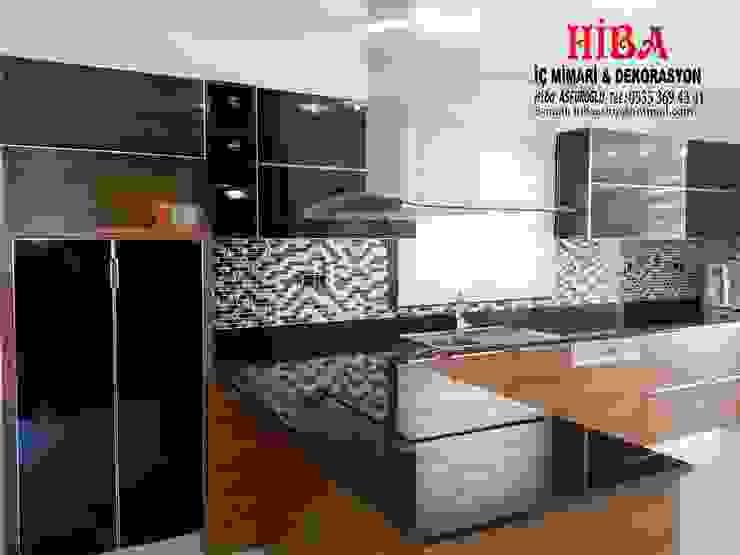 Cocinas de estilo moderno de Hiba iç mimarik Moderno