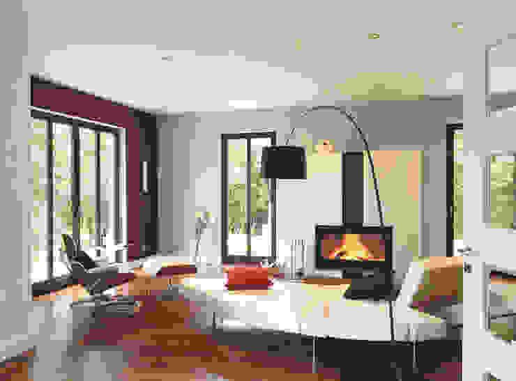 Living room by Haacke Haus GmbH Co. KG, Modern