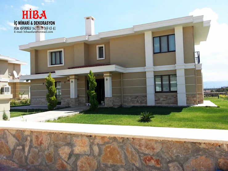 Dr. Mustafa Ödemiş Villası Modern Evler Hiba iç mimarik Modern