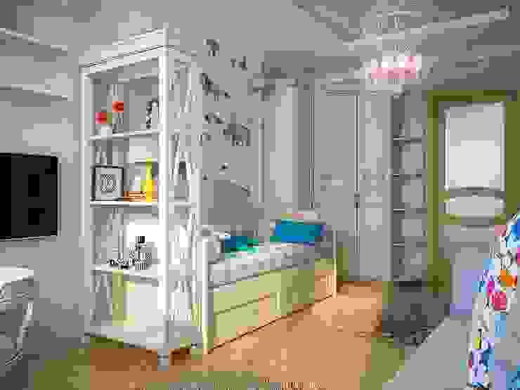 Квартира неоклассика Детская комнатa в классическом стиле от Инна Михайская Классический