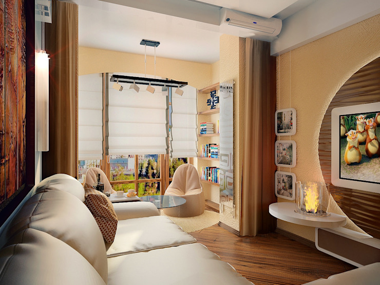 Комната Гостиная в стиле модерн от Инна Михайская Модерн