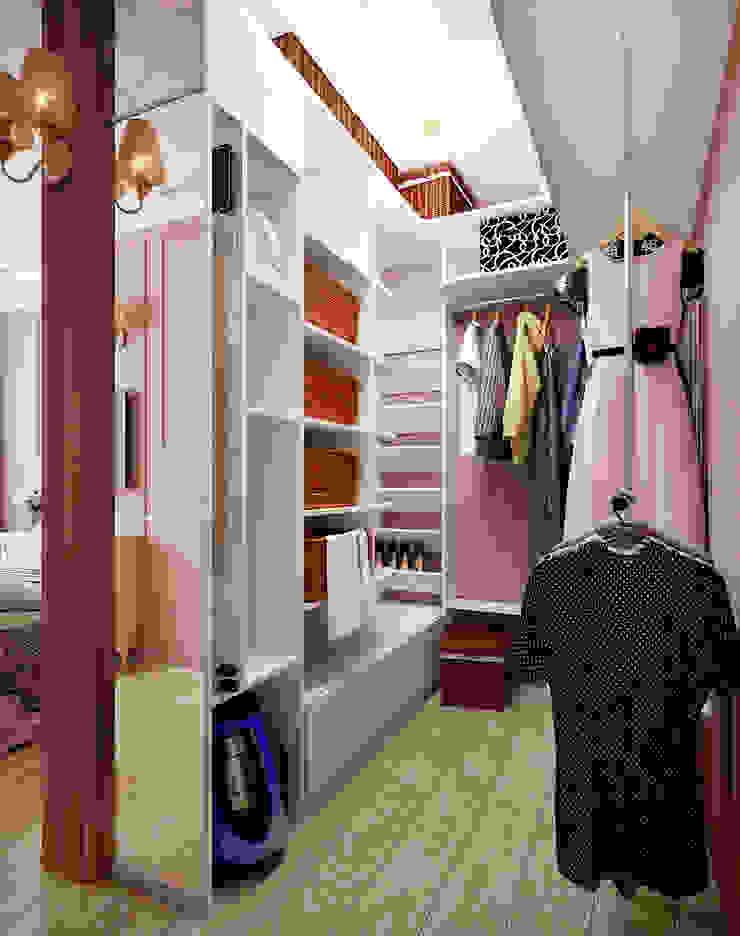 Квартира неоклассика Гардеробная в классическом стиле от Инна Михайская Классический