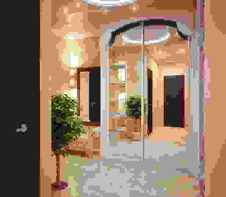 Pasillos, vestíbulos y escaleras de estilo clásico de Инна Михайская Clásico
