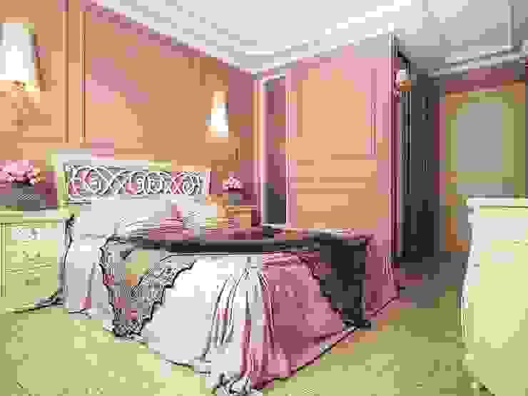 Квартира неоклассика Спальня в классическом стиле от Инна Михайская Классический