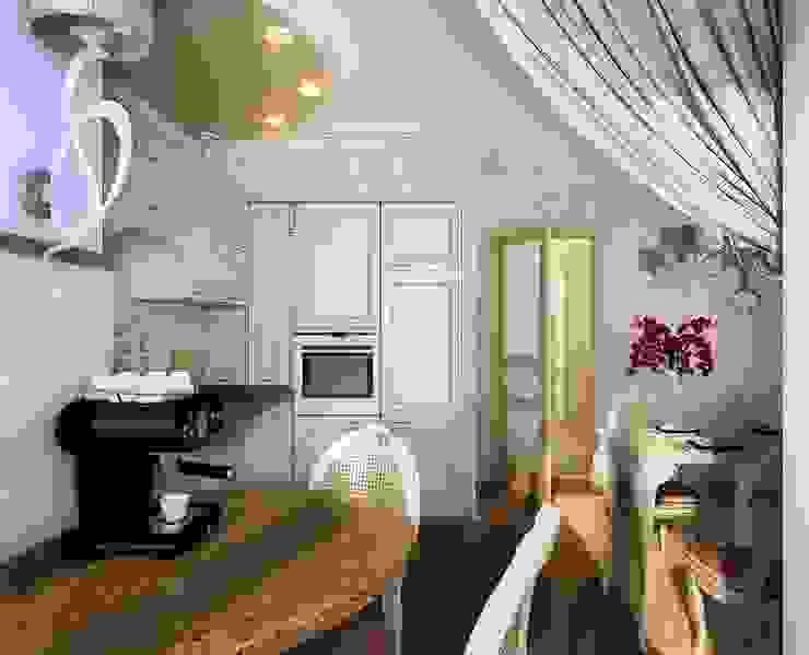 Квартира неоклассика Кухня в классическом стиле от Инна Михайская Классический